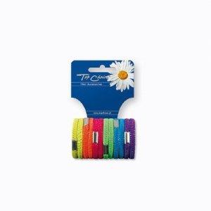 Top Choice Akcesoria do włosów Gumki Neon (22470)  1op-12szt