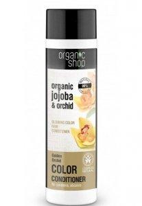 Organic Shop Balsam do włosów farbowanych Złota Orchidea BDIH