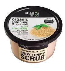 Organic Shop Peeling do ciała Cukier trzcinowy 250 ml