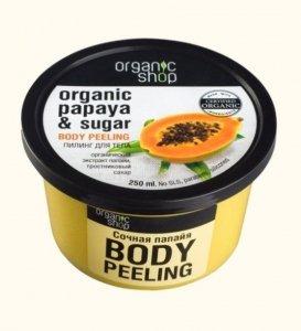 Organic Shop Peeling do ciała Juicy Papaya 250 ml