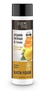 Organic Shop Płyn do kąpieli Cytryna-Mód BDIH 500 ml