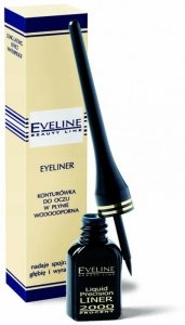 Eveline Eyeliner czarny w kałamarzu