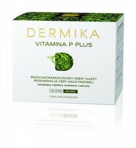 Dermika Vitamina P Plus Krem przeciwzmarszczkowy tłusty na dzień i noc  50ml
