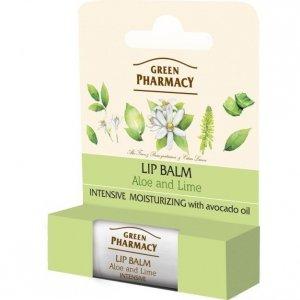 Green Pharmacy Lip Balm Balsam do ust Intensive Moisturizing  1szt