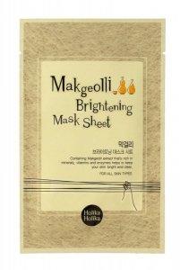 Holika Holika Makgeolli Brightening Mask Sheet Maska w płacie rozjaśniająca  1szt