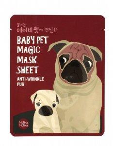 Holika Holika Baby Pet Magic Mask Sheet Maska w płacie Anti-Wrinkle Pug  1szt