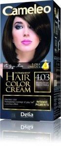 Delia Cosmetics Cameleo HCC Farba permanentna Omega+ nr 4.03  Mocha Brown  1op.