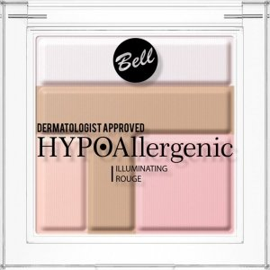 Bell Hypoallergenic Róż Illuminating Rouge nr 1  5g