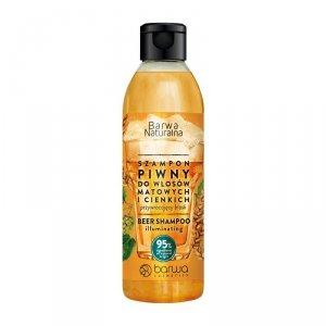 BARWA Naturalna Szampon do włosów Piwny przywracający blask - włosy cienkie i matowe  300ml