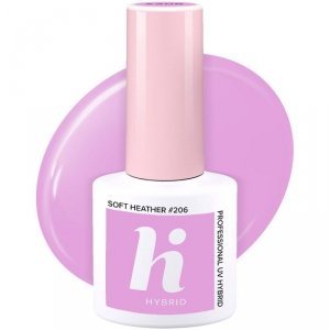 Hi Hybrid Lakier hybrydowy nr 206 Soft Heather  5ml