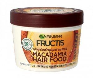 Fructis Hair Food Maska do włosów wygładzająca Macadamia  390ml