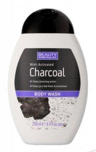 Beauty Formulas Charcoal Żel do mycia ciała z aktywnym węglem  250ml