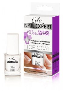 Celia Nail Expert Top Coat 60s Fast Dry  10ml