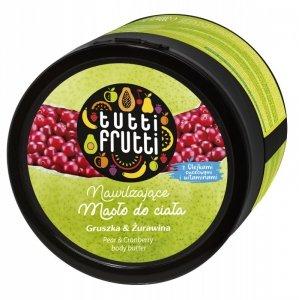 Farmona Tutti Frutti Masło do ciała nawilżające Gruszka & Żurawina  200ml