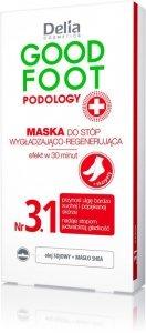 Delia Cosmetics Good Foot Podology Nr 3.1 Maska wygładzająco-regenerująca do stóp+skarpety  10ml
