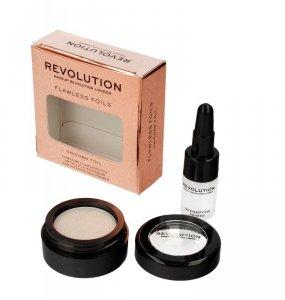 Makeup Revolution Flawless Foils Cień do powiek metaliczny+baza Unicorn Foil 1op.