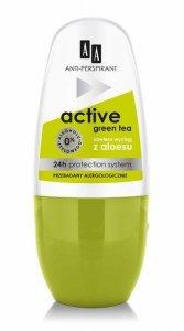 AA Dezodorant roll-on Active Green Tea  50ml
