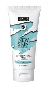 Beauty Formulas New Skin Glycolic Żel nawilżający do twarzy z kwasem glikolowym  75ml