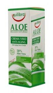 Equilibra Aloe Krem przeciwstarzeniowy 50% aloesu  50ml