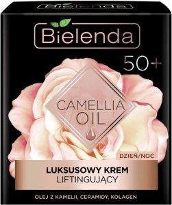 Bielenda Camellia Oil 50+ Luksusowy Krem liftingujący na dzień i noc  50ml