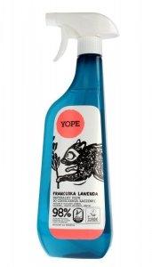 YOPE Płyn do czyszczenia łazienki FRANCUSKA LAWENDA  750ml