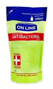 On Line Mydło w płynie Antybakteryjne Lime - uzupełnienie  500ml