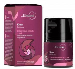 Vis Plantis Element Filtrat Śluzu Ślimaka Krem pod oczy przeciw oznakom starzenia  30ml