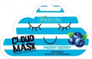 Bielenda Cloud Mask Bąbelkująca Maseczka detoksykująca Merry Berry  6g