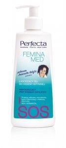Perfecta Femina Med SOS Łagodzący Żel  wspomagający do higieny intymnej  (stany zapalne) 250ml