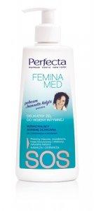Perfecta Femina Med SOS Delikatny Żel  wzmacniający barierę ochronną do higieny intymnej 250ml