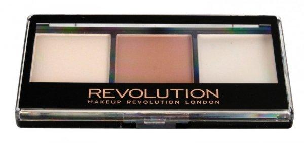 Makeup Revolution Ultra Contour Kit Zestaw do konturowania twarzy Lithening Contour 02  1szt