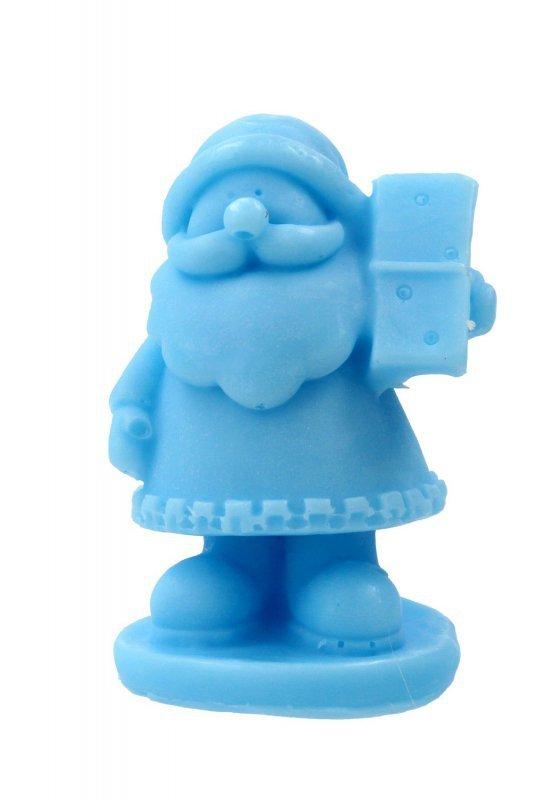 LaQ Mydełko glicerynowe Mały Święty Mikołaj - niebieski  30g