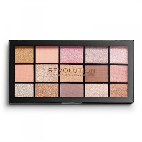 Makeup Revolution Paleta cieni do powiek Reloaded Fundamental 1 szt.