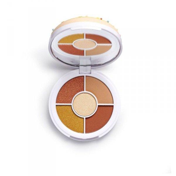 I Heart Revolution Donuts Palette Cienie do powiek (5) Maple Glazed 1szt