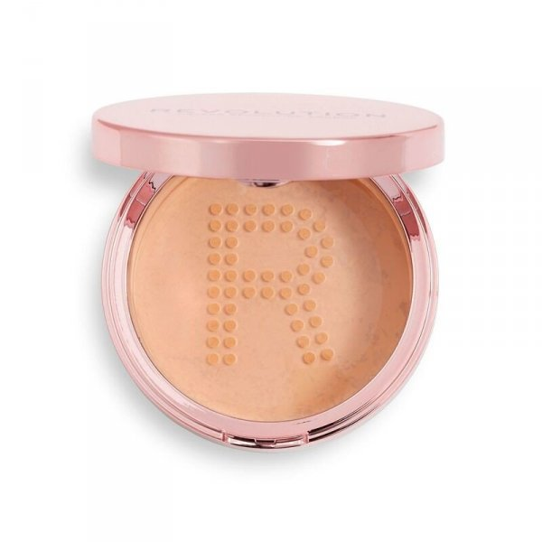 Makeup Revolution Conceal & Fix Setting Powder Puder sypki Medium Pink 13g