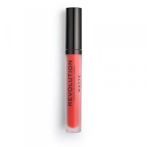 Makeup Revolution Cherry 132 Pomadka do ust w płynie Matte  1szt