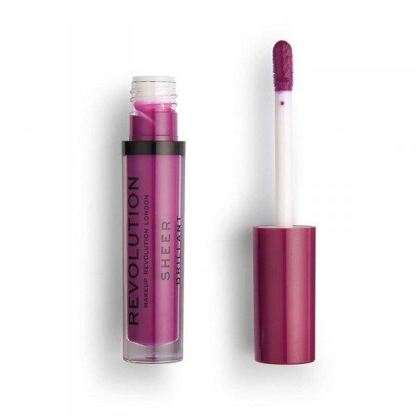 Makeup Revolution Vixen 145 Pomadka do ust w płynie Sheer Brillant  1szt