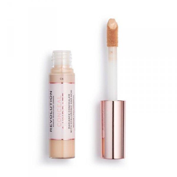 Makeup Revolution Conceal & Hydrate Concealer Korektor w płynie C5 1szt
