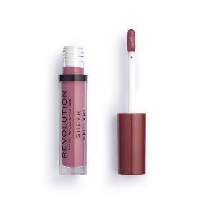 Makeup Revolution Dollhouse 116 Pomadka do ust w płynie Sheer Brillant  1szt