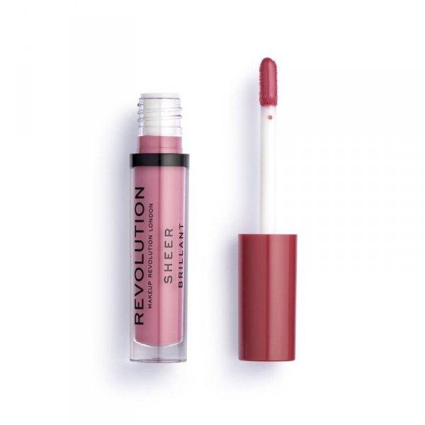 Makeup Revolution Poise 115 Pomadka do ust w płynie Sheer Brillant  1szt