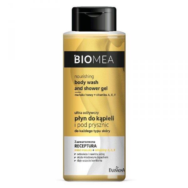 Farmona Biomea Ultra Odżywczy Płyn do kąpieli i pod prysznic 2w1 - każdy rodzaj skóry 500ml