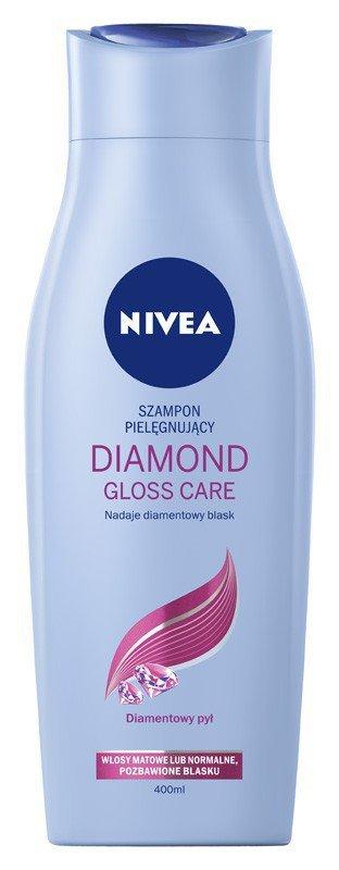 NIVEA Hair Care Szampon DIAMOND GLOSS CARE  400ml
