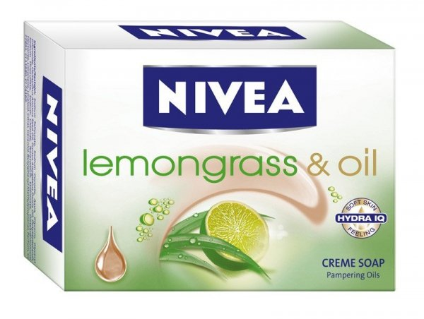NIVEA MYDŁO Lemongrass+Oil kostka 100g