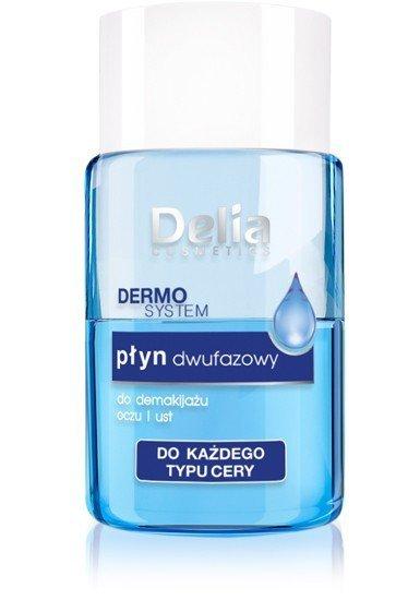 Delia Cosmetics Dermo System Płyn dwufazowy do demakijażu Mini 50ml