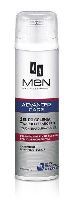 AA Men Adventure Care Żel do golenia twardego zarostu  200ml