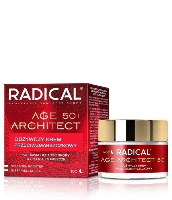 Farmona Radical Age Architect 50+ Odżywczy Krem przeciwzmarszczkowy na noc  50ml