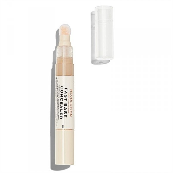 Makeup Revolution Korektor pod oczy Fast Base Concealer C9, 4,5 ml