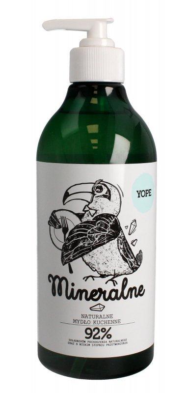 YOPE Mydło kuchenne MINERALNE 500ml