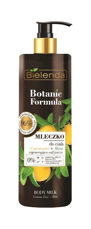 Bielenda Botanic Formula Cytrynowiec+Mięta Mleczko do ciała  400ml