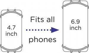 Dooky Uniwersalny uchwyt na telefon mint